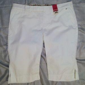 White Capris NWT